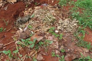 The Water Project: Kiryamasasa Community -  Garbage Pit