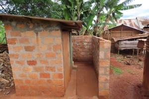 The Water Project: Kiryamasasa Community -  Latrines