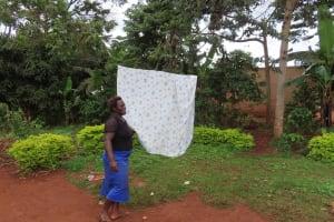 The Water Project: Kiryamasasa Community -  Laundry