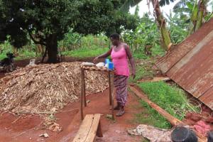 The Water Project: Kiryamasasa Community -  Organizing Dishes