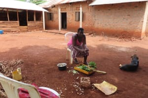 The Water Project: Kiryamasasa Community -  Preparing Food