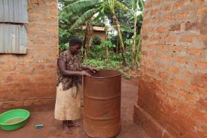 The Water Project: Kiryamasasa Community -  Storage Containers