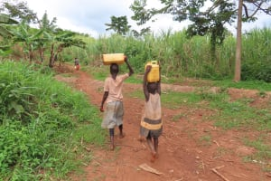 The Water Project: Kiryamasasa Community -  Water From The Open Source
