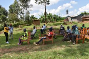 The Water Project: Shianda Community, Akhonya Spring -  Handwashing Demonstration