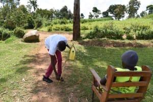 The Water Project: Shianda Community, Akhonya Spring -  Making A Tippy Tap