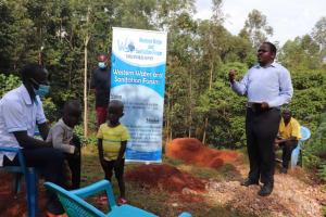 The Water Project: Shikoye Community, Kwa Witinga Spring -  Eric Mambo