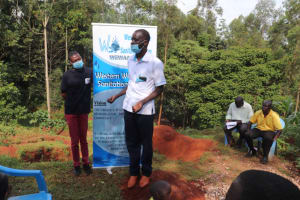 The Water Project: Shikoye Community, Kwa Witinga Spring -  Question And Answer Session