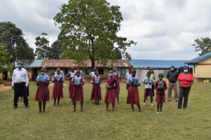 The Water Project: Jivuye Primary School -  Group Training Photo