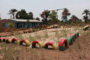The Water Project: Lungi, Rogbom Tardi, International High School -  Playground