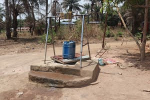 The Water Project: Lungi, Rogbom Tardi, International High School -  Unprotected Well