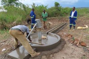 The Water Project: Nsamya Nusaff II Well -  Writing Dedication