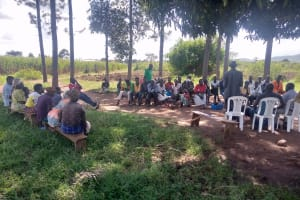 The Water Project: Nsamya Nusaff II Well -  Facilitator