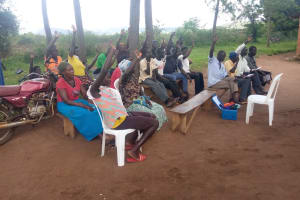 The Water Project: Nsamya Nusaff II Well -  Participating