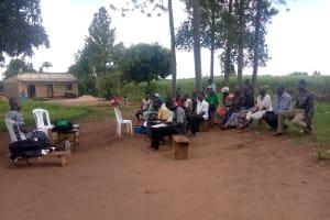 The Water Project: Nsamya Nusaff II Well -  Training