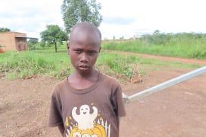 The Water Project: Nsamya Nusaff II Well -  Ebiru Rigan