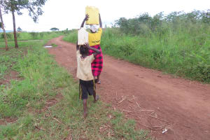 The Water Project: Nsamya Nusaff II Well -  Satisfied Customers