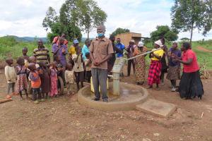 The Water Project: Nsamya Nusaff II Well -  Speech Time