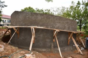The Water Project: Kako Special School for the Mentally Handicapped -  Walls Almost Done