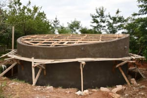 The Water Project: Kako Special School for the Mentally Handicapped -  Dome Construction