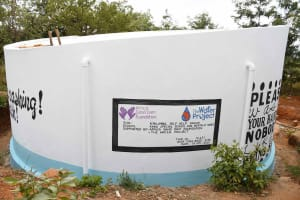 The Water Project: Kako Special School for the Mentally Handicapped -  After Paint