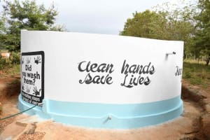 The Water Project: Kako Special School for the Mentally Handicapped -  Clean Hands