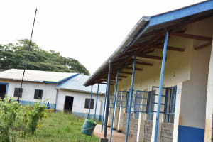 The Water Project: Kako Special School for the Mentally Handicapped -  Gutters Installed