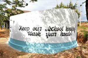 The Water Project: Kako Special School for the Mentally Handicapped -  Handwashing