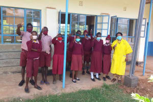 The Water Project: Kako Special School for the Mentally Handicapped -  Health Club