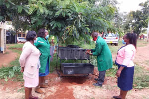 The Water Project: Kako Special School for the Mentally Handicapped -  Learning Handwashing