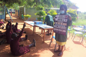 The Water Project: Kako Special School for the Mentally Handicapped -  Learning Prevention