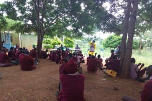 The Water Project: Kako Special School for the Mentally Handicapped -  Listening Attentively