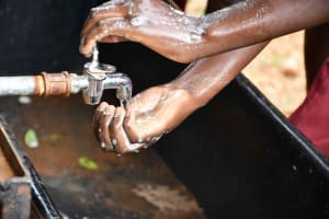 The Water Project: Kako Special School for the Mentally Handicapped -  Soap And Water