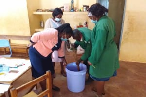 The Water Project: Kako Special School for the Mentally Handicapped -  Soapmaking
