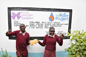 The Water Project: Kako Special School for the Mentally Handicapped -  Thumbs Up