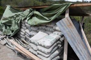 The Water Project: Kaketi Community B -  Cement Bags