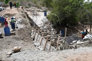 The Water Project: Kaketi Community B -  First Phase
