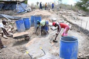 The Water Project: Kaketi Community B -  Mixing