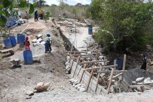 The Water Project: Kaketi Community B -  Scaffolding