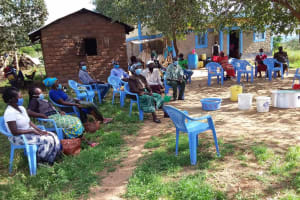 The Water Project: Kaketi Community B -  Being Trained