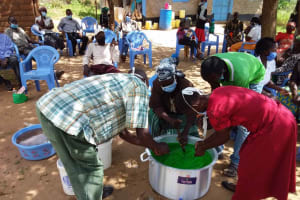 The Water Project: Kaketi Community B -  Everyone Collaborating