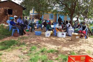 The Water Project: Kaketi Community B -  Participants