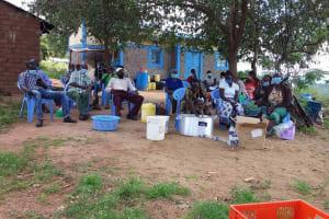 The Water Project: Kaketi Community B -  Soap Mixing