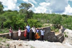 The Water Project: Kaketi Community B -  Complete Sand Dam