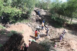 The Water Project: Mbitini Community B -  Excavation