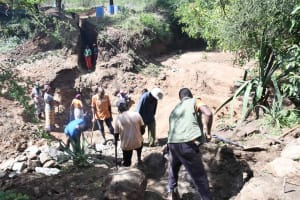 The Water Project: Mbitini Community B -  First Phase