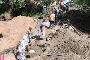 The Water Project: Mbitini Community B -  Working Together