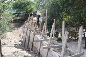 The Water Project: Mbitini Community B -  Filled With Cement