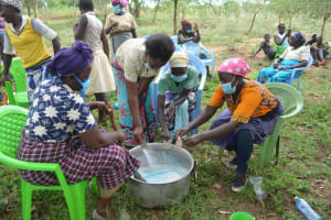 The Water Project: Mbitini Community B -  Adding Ingredients