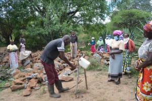 The Water Project: Mbitini Community B -  Handwashing