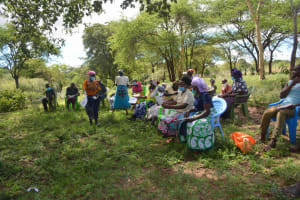 The Water Project: Mbitini Community B -  Participants